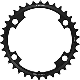 EASTON Cinch Shifting Ring Plateau 4 vis 2x11 vitesses, black